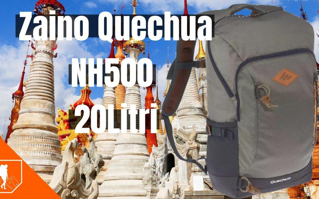 Zaino Quechua NH500 20Litri   recensione