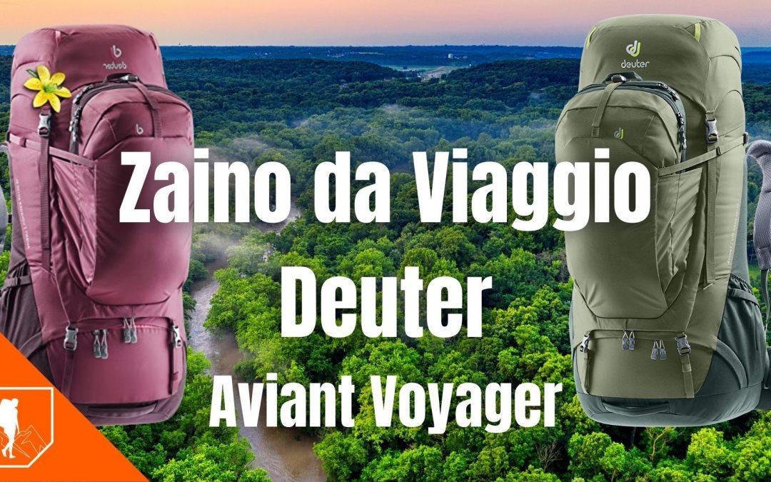 Deuter Aviant Voyager 65+10 & 60+10 SL