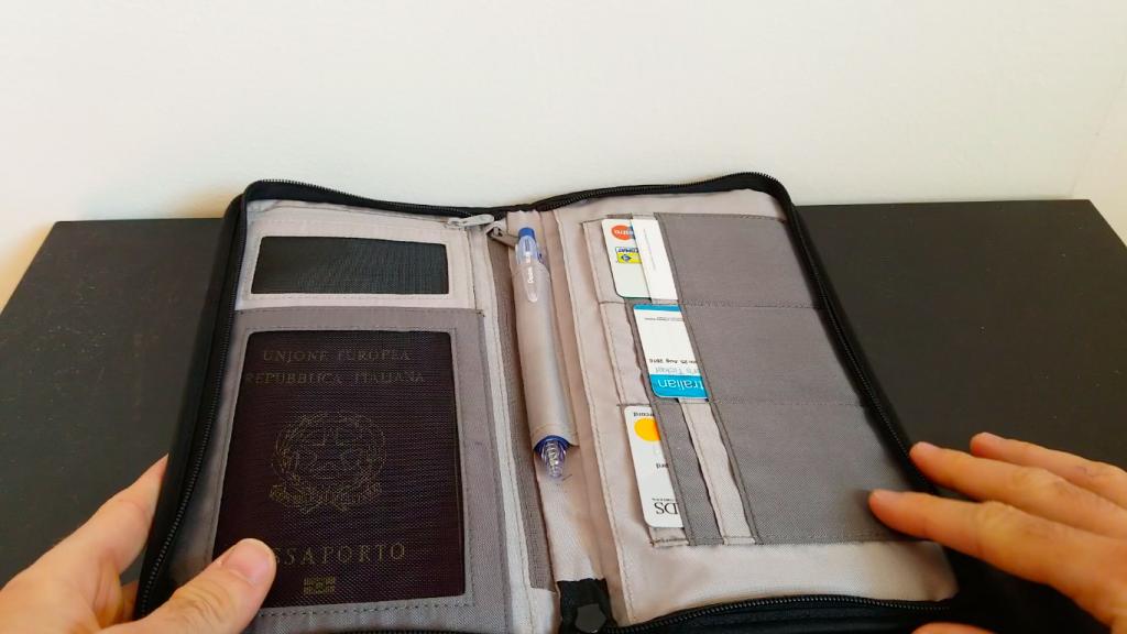 Come fare il passaporto | portafoglio da viaggio