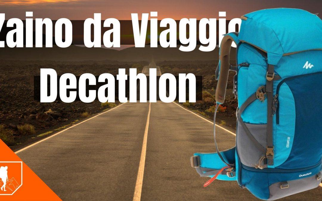 Zaino da Viaggio Decathlon