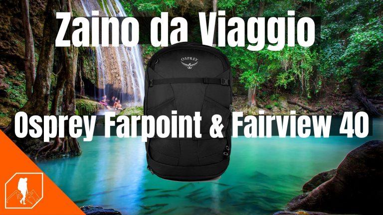Zaino da viaggio bagaglio a mano Osprey farpoint 40