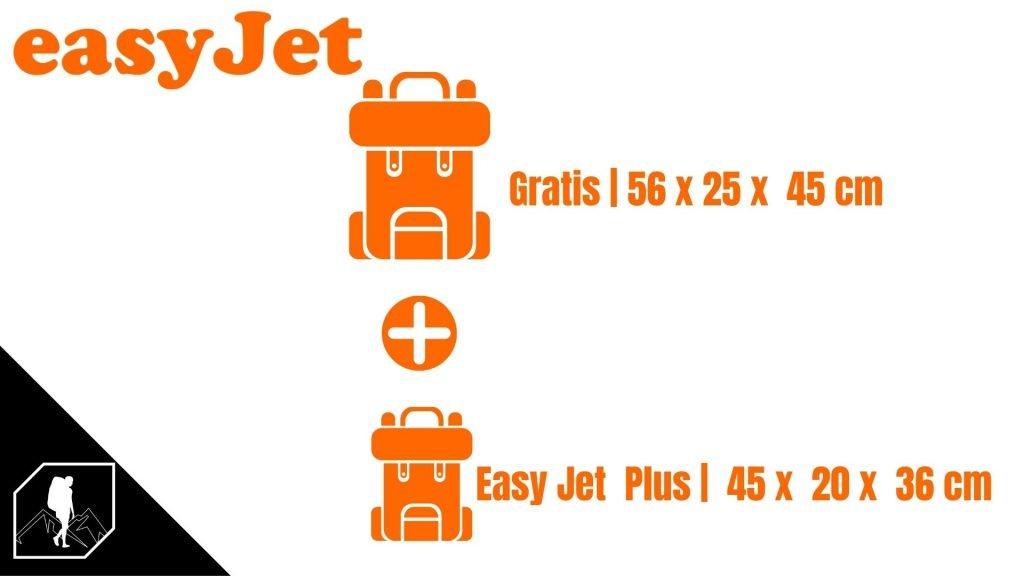 Bagaglio a mano Easy Jet
